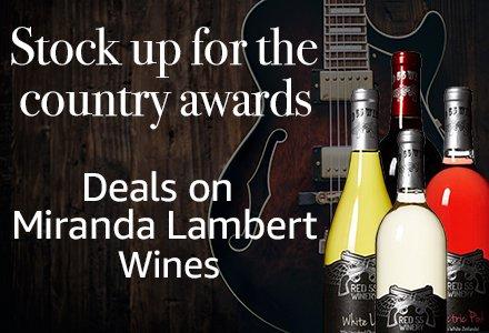 Amazon Wine & Champagne: Miranda Lambert Wine