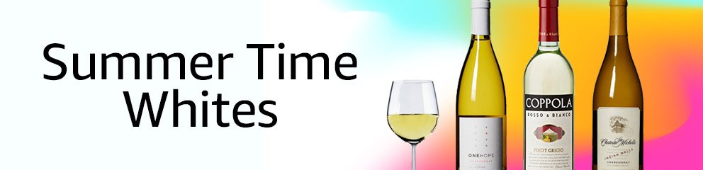Summer Time White Wines