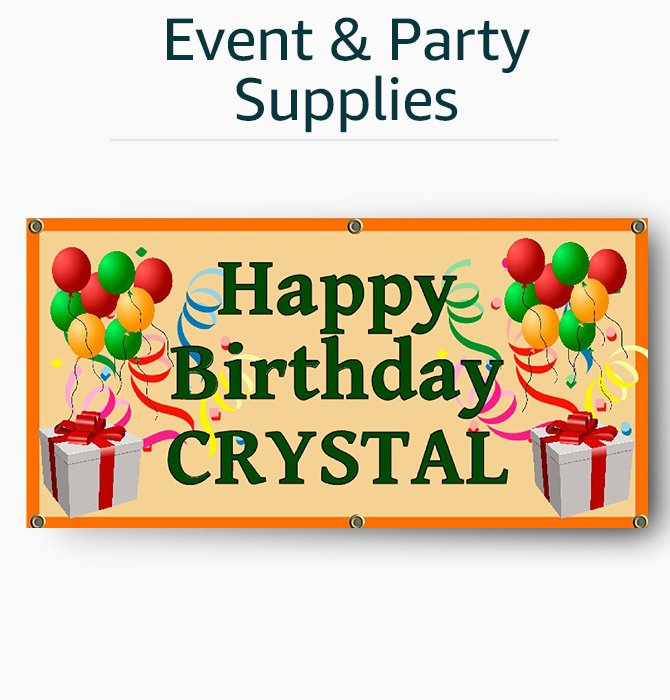 Custom Event & Party Supplies