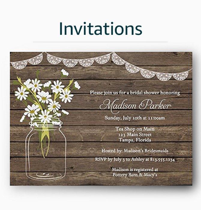 Amazon custom personalized gifts dcor products custom invitations negle Images