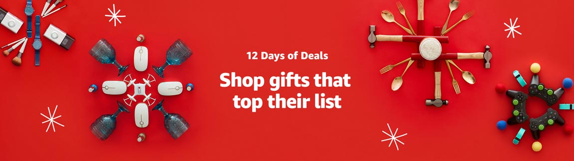 Shop 12 Days of Deals.