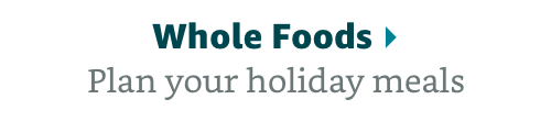 Plan your holiday meals