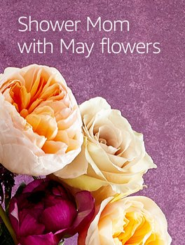 Shower Mom with May flowers
