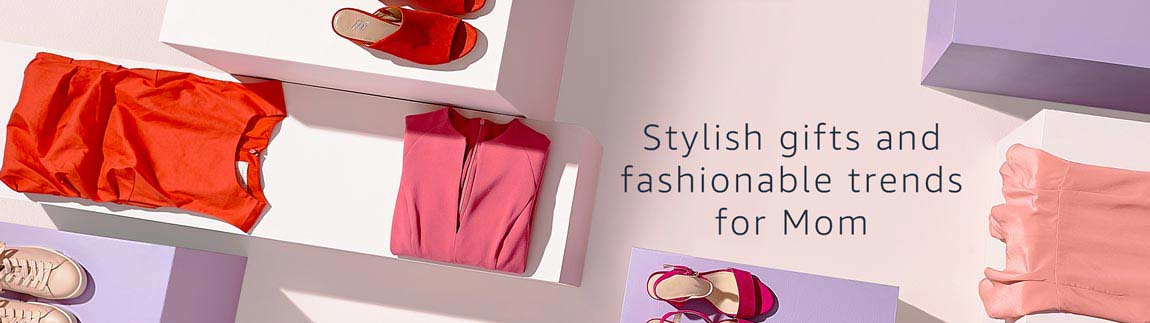 Stylish gifts and fashionable trends for Mom