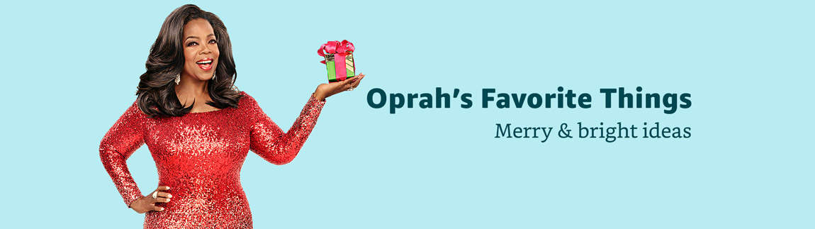 Oprah's Favorite Things. Merry and bright ideas.