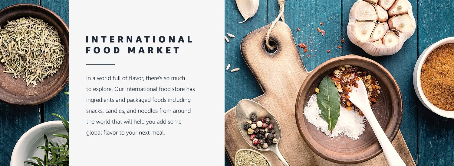 Amazon com: International Food Market: Grocery & Gourmet Food