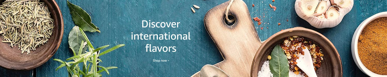 Discover international flavors