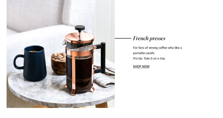 Fresh presses