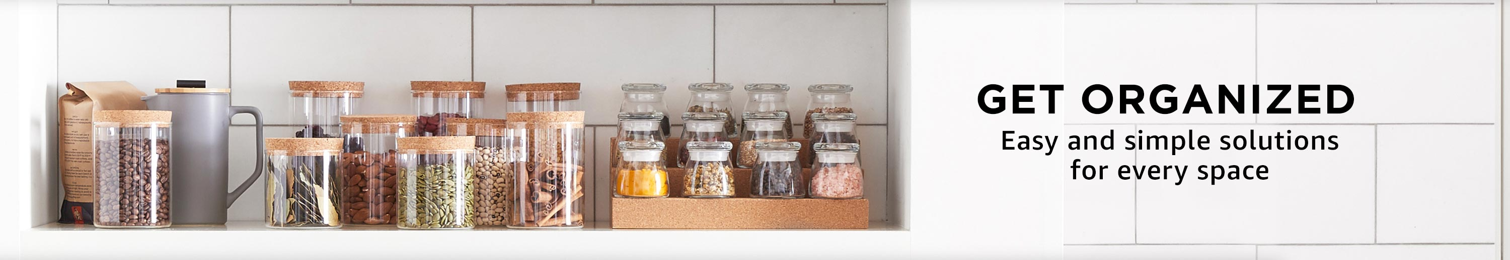 Get organized: easy and simple solutions for every space
