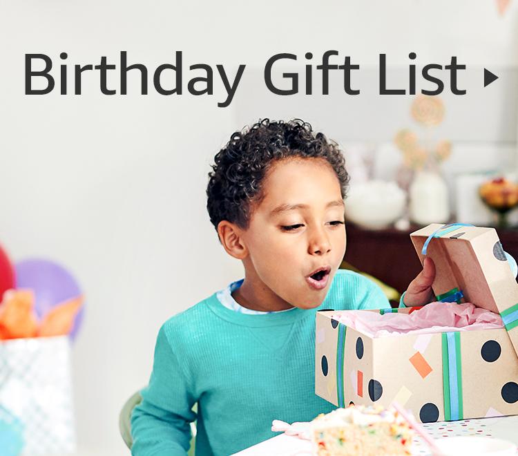 Birthday Gift List