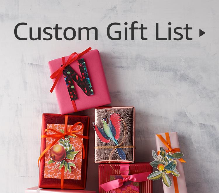 Custom Gift List