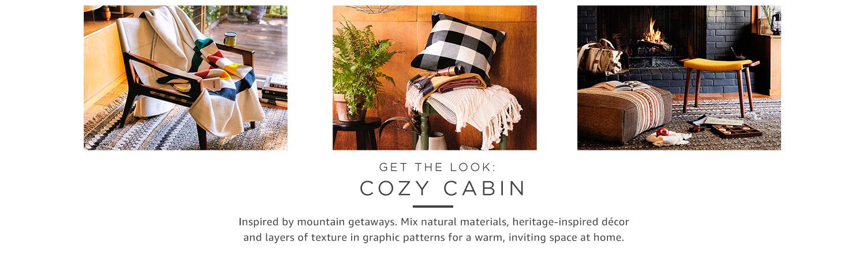 Get the look: Cozy cabin