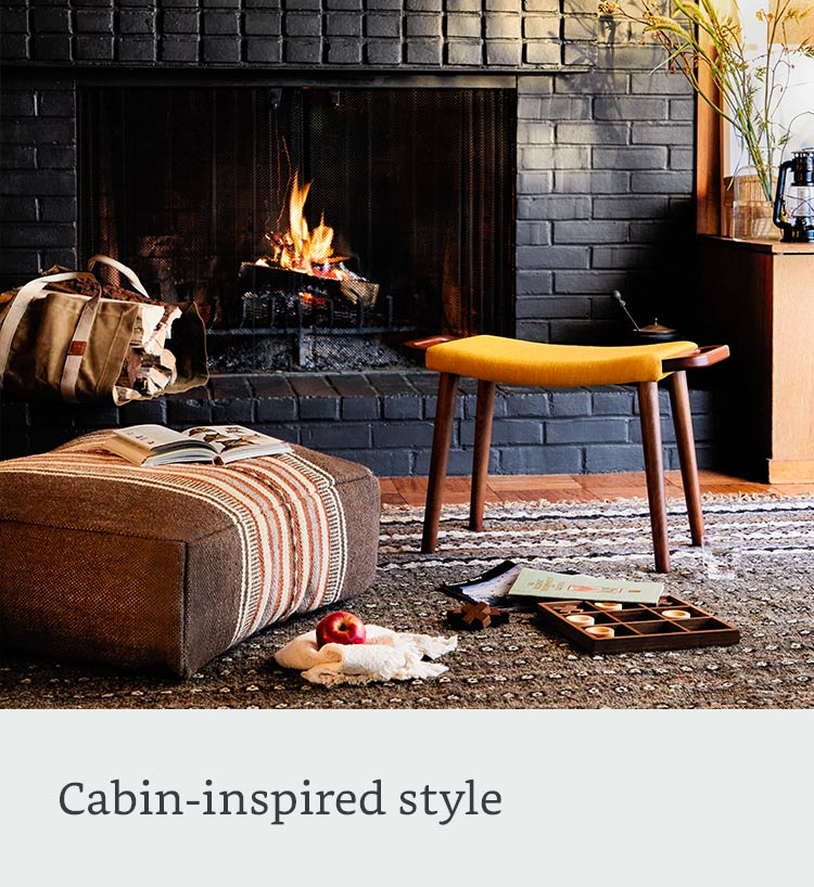 Cabin-inspired style