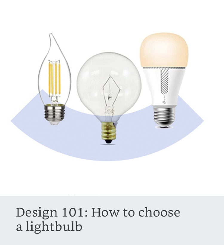 How to choose a lightbulb