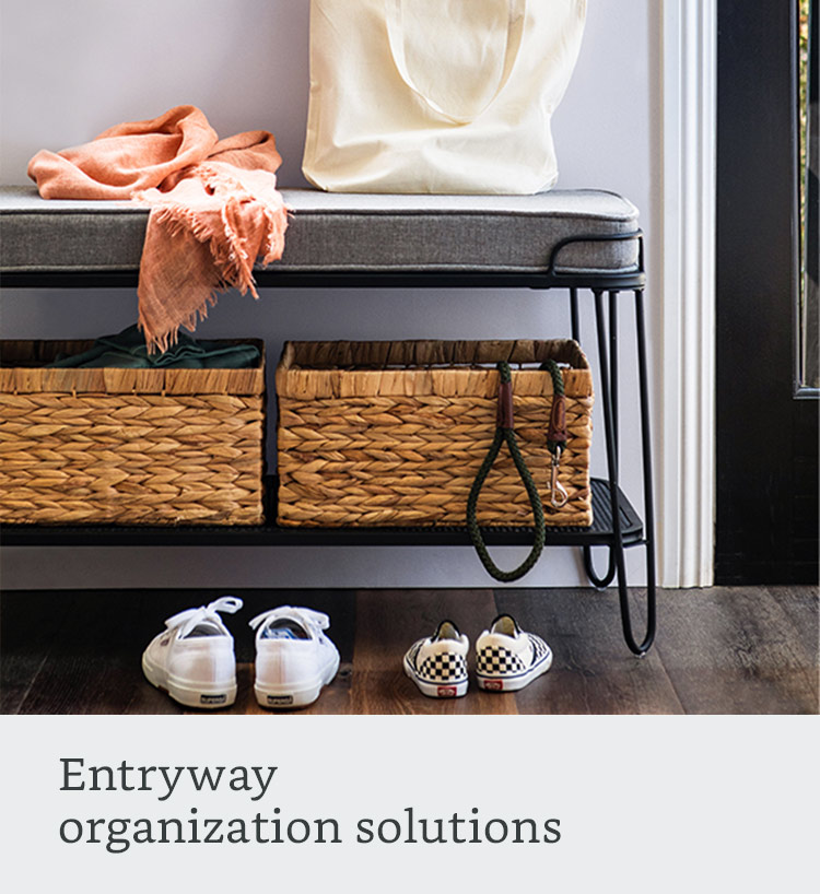 Entryway organization solutions