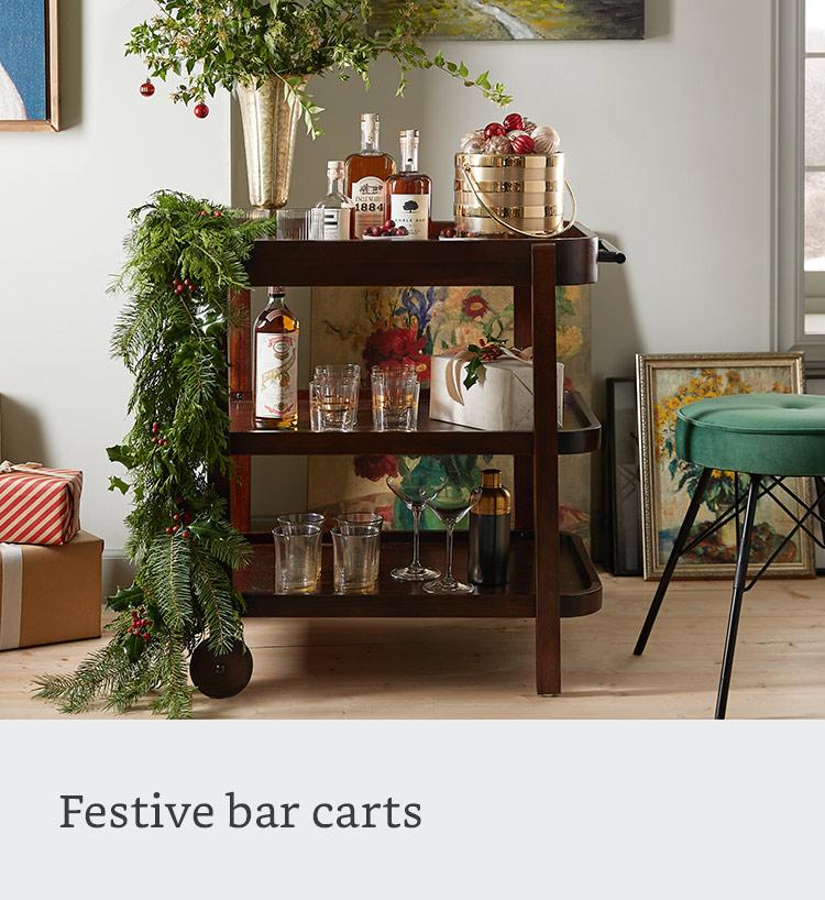 Festive bar carts