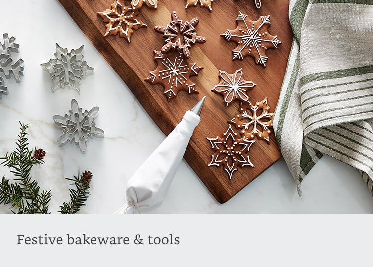 Festive bakeware & tools