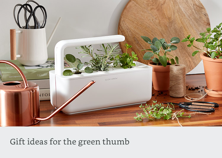 Gifts for the green thumb