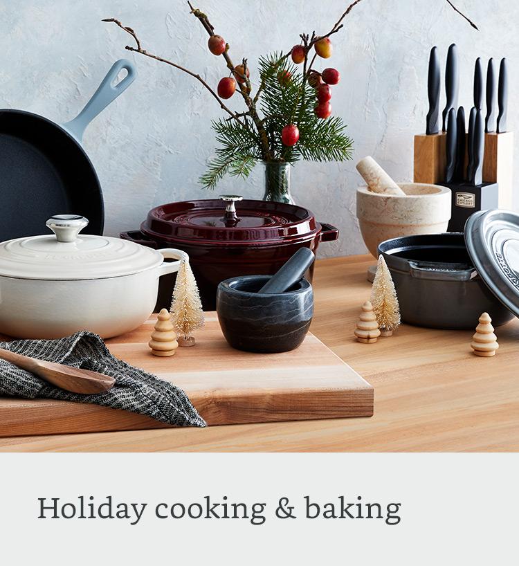Holiday cooking & baking
