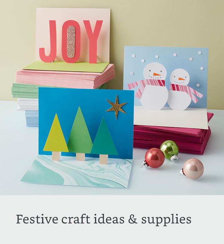 Festive craft ideas & supplies
