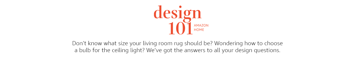 Design 101 has answers to all of your design questions