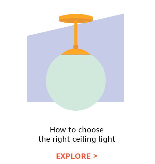 How to choose the right ceiling light