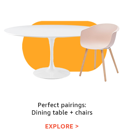Perfect pairings: Dining table + chairs
