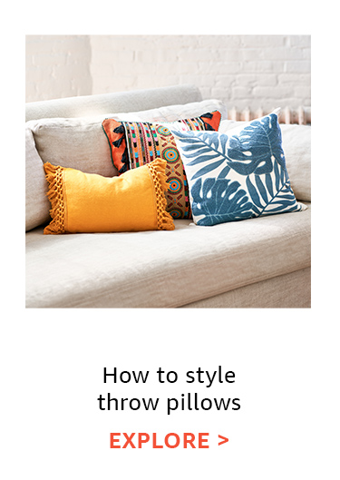 Stying tip throw pillows