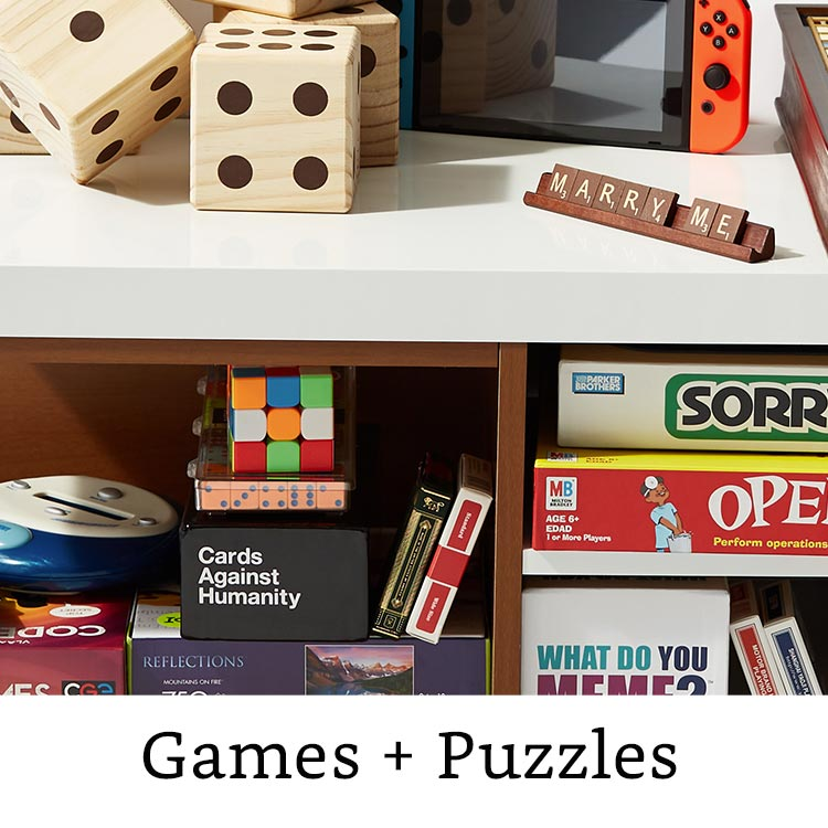 Games + Puzzles