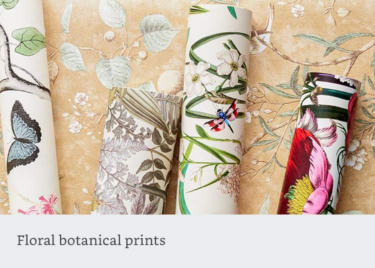 Floral botanical prints
