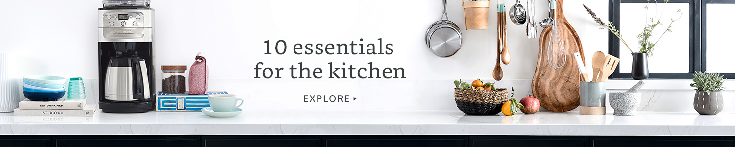 10 essentials for the kitchen