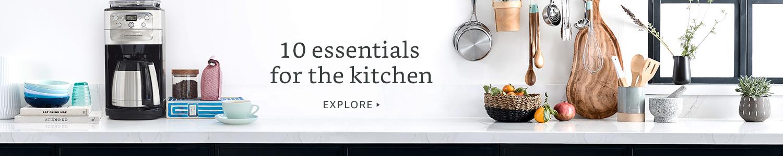 10 essentials for the kitchen