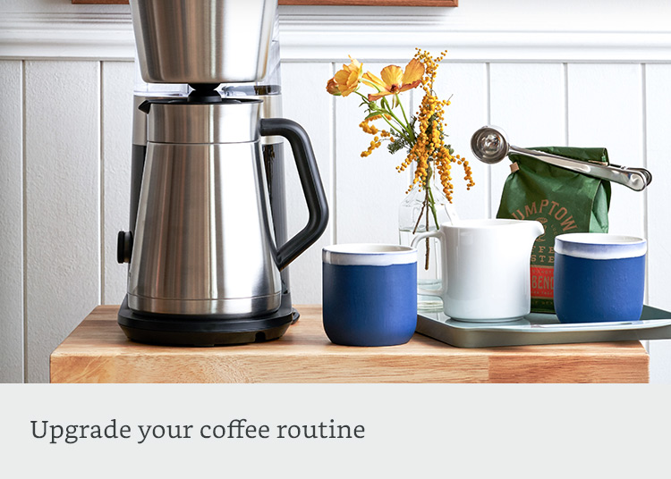 Upgrade your coffee routine