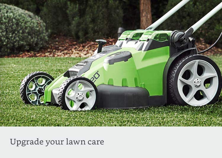 Upgrade your lawn care
