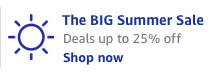 Deals up to 25% off