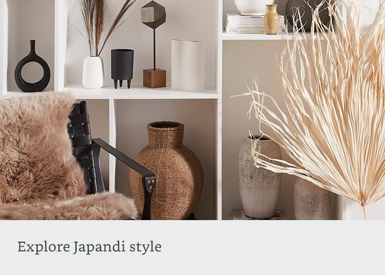 Explore Japandi style