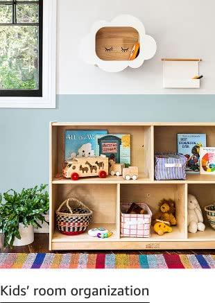 Kids' room organization
