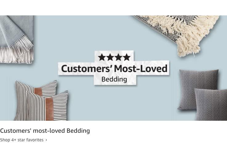 Customers' most-loved Bedding. Shop 4+ star favorites