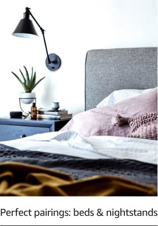 Perfect pairings: beds & nightstands