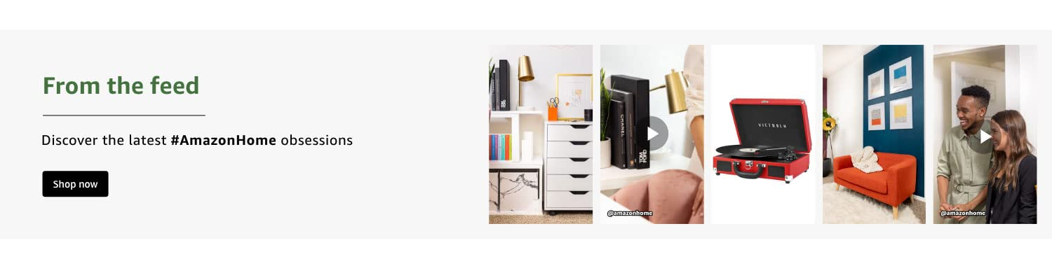 From the feed. Discover the latest #AmazonHome obsessions