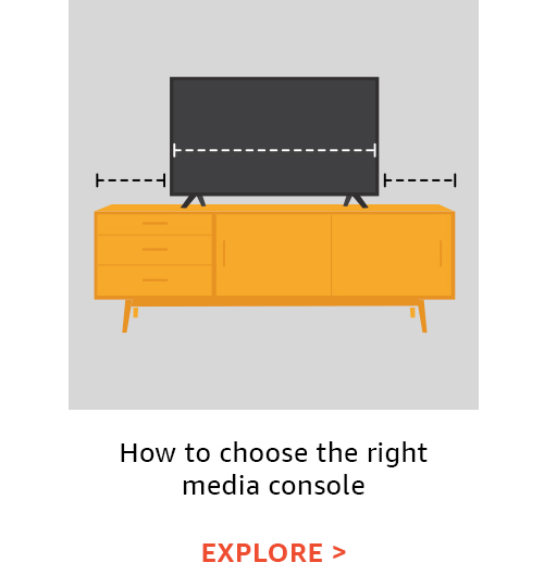 How to choose the right media console for your room