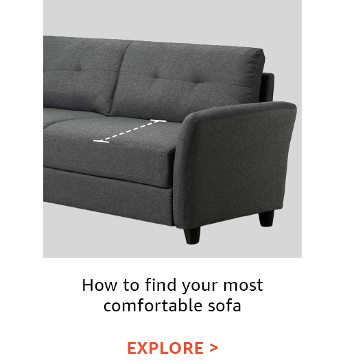 How to find your most comfortable sofa