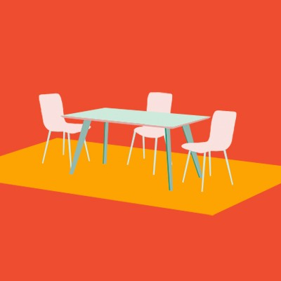 Choose the right rug for your dining room