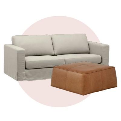 Kid-friendly sofas + coffee tables