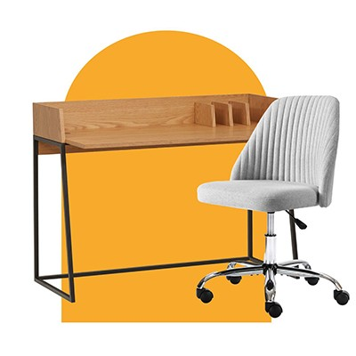 Perfect pairings: desks + chairs