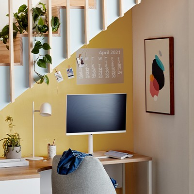 Make the most of a small workspace
