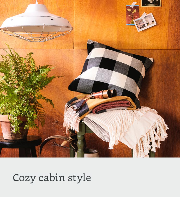 Cozy cabin style