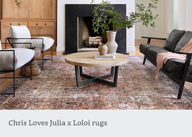Loloi x Chris Love Julia Rugs