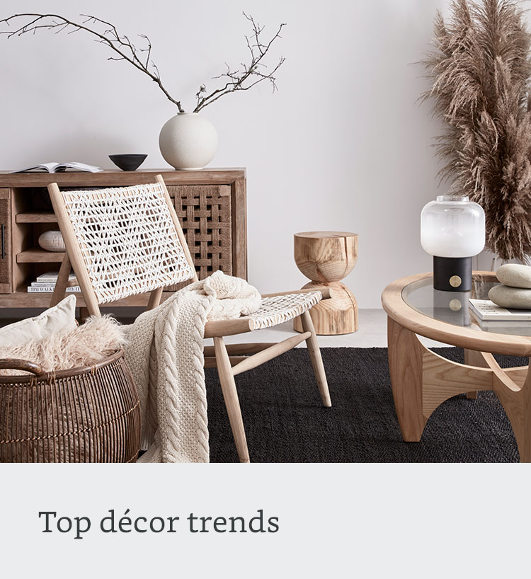 Top décor trends