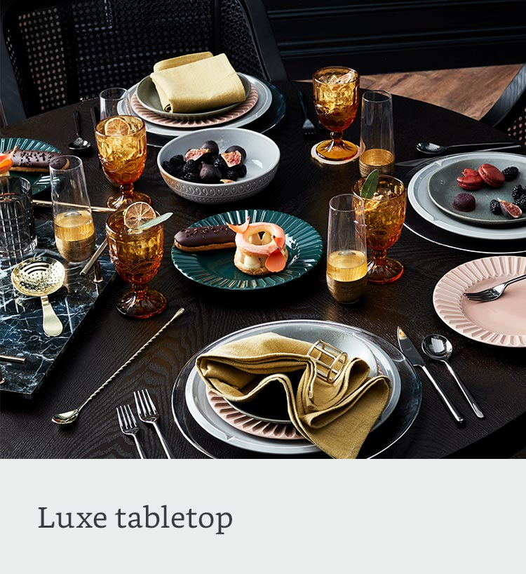 Luxe tabletop